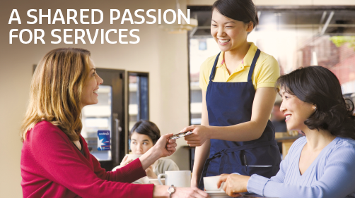 A Shared Passion For Services