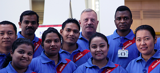 Sodexo Core Values